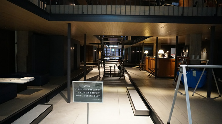 HOTEL CYCLE エントランス
